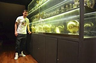 Messi sala de trofeos