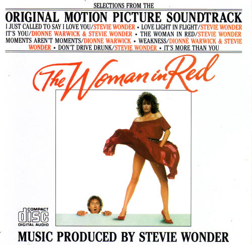 STEVIE WONDER - THE WOMAN IN RED 1984