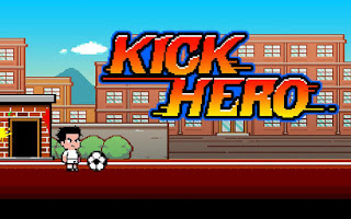 Screenshots of the Kick hero for Android tablet, phone.