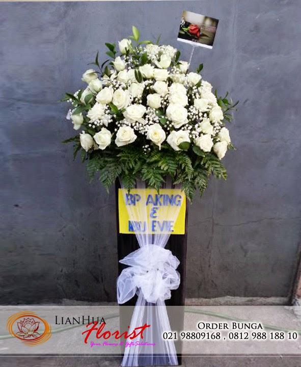 bunga duka cita, toko karangan bunga, rangkaian standing bunga duka cita, toko bunga, bunga papan duka cita
