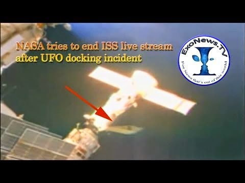NASA Tries Ending ISS Live Atreaming After UFO Docking Incident