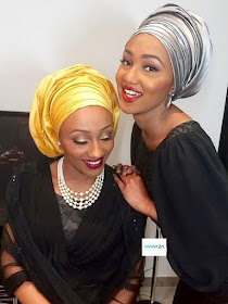 See beautiful photos of Zahra Buhari and her sister, Halima