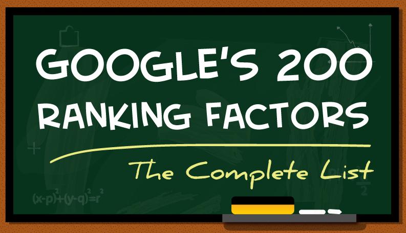 google-200-ranking-factors