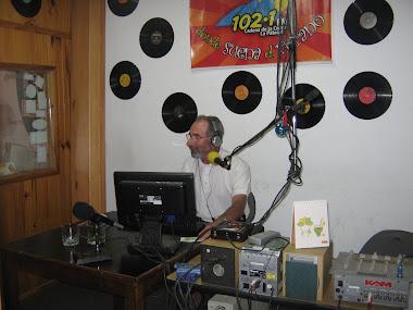 """Nos entrevista Jony Casellla en su programa """"Cabo Suelto - Febrero de 2011"""