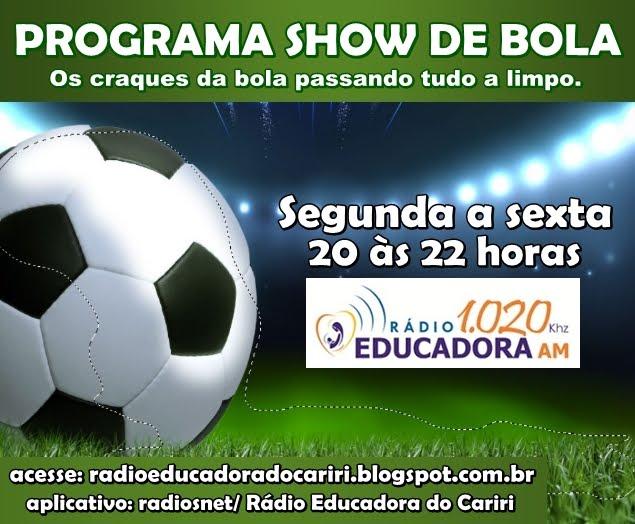 PROGRAMA SHOW DE BOLA