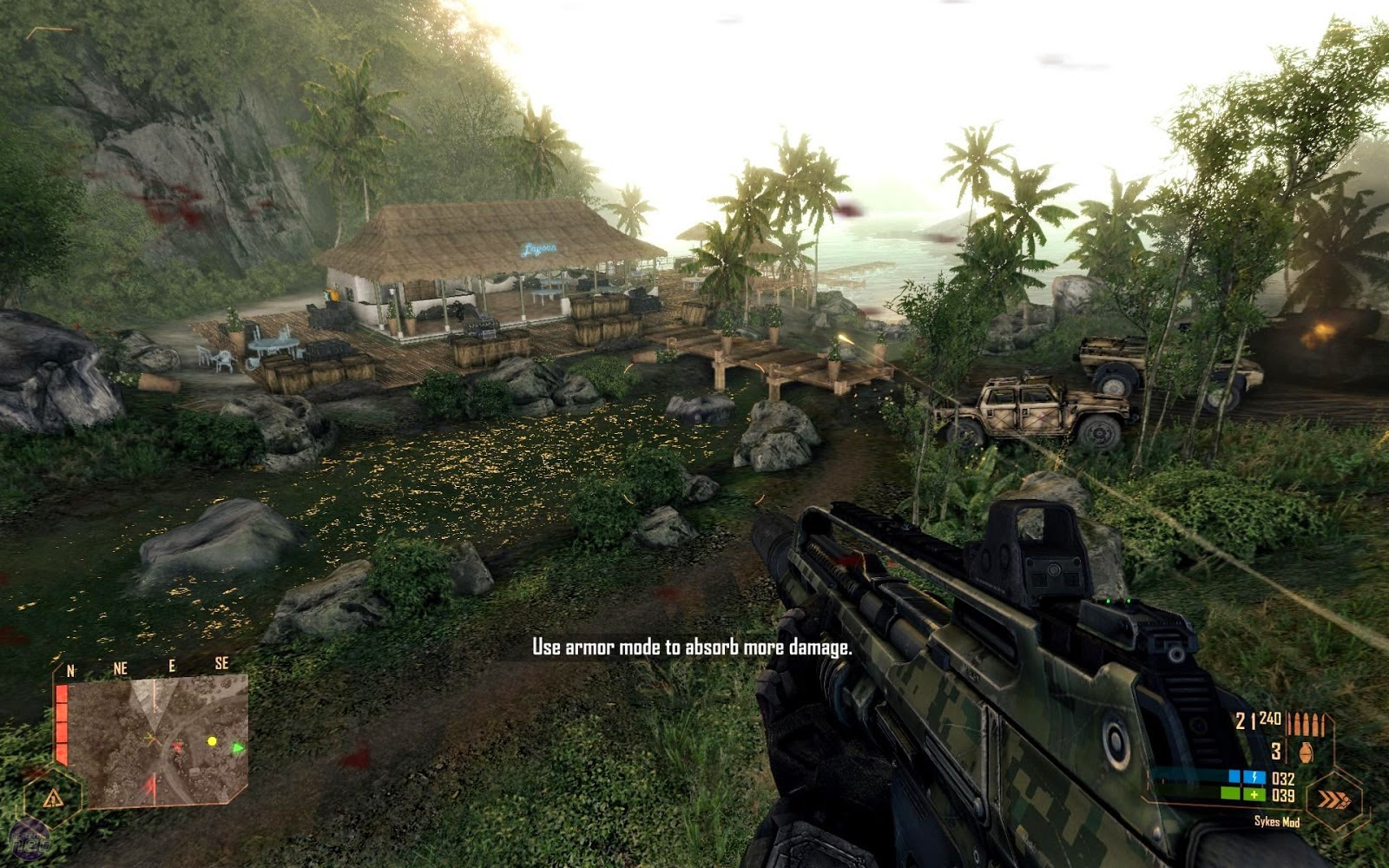Crysis 1 PC Game Screen Shots, Wallpapers