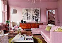 decorar con rosa viejo