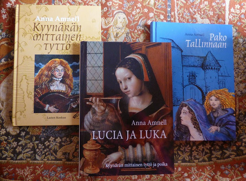 Lucia Olavintytär -kirjat