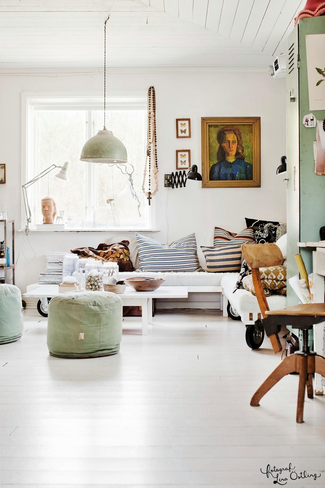 Vintage: vårt hem i hus & hem