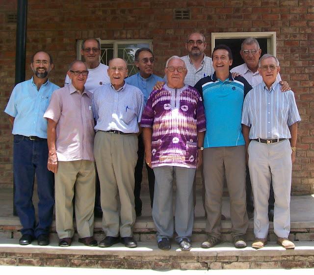 Con los compañeros del IEME