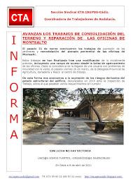 AVANZAN LOS TRABAJOS DE CONSOLIDACIÓN DEL TERRENO Y REPARACIÓN DE LAS OFICINAS DE MONTEALTO