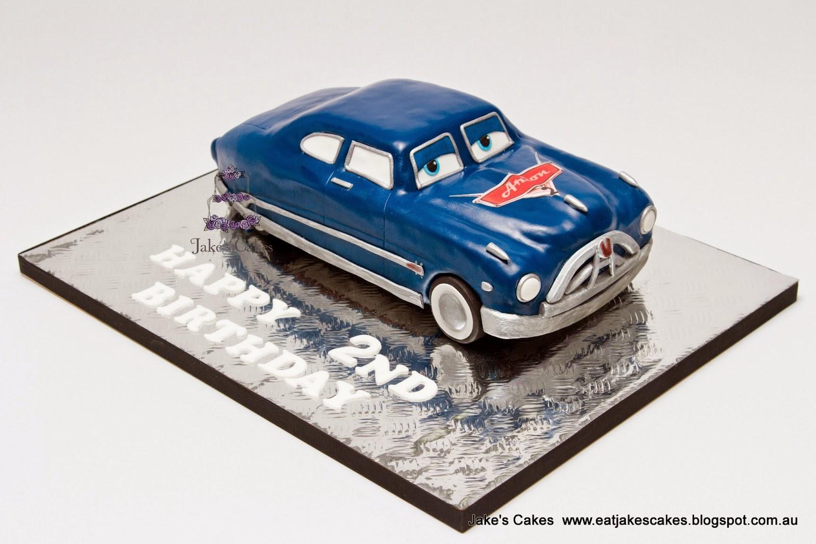 Jakes Cakes Doc Hudson Hornet Cake
