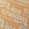 Game - Ice Cream Cards