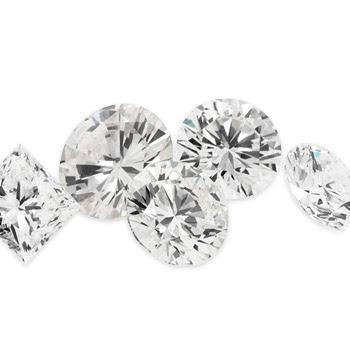 Five sparkly Australian Outback diamonds.