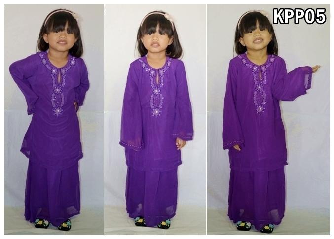 ... Baby Store and more...: Baju Kurung Chiffon Kanak-kanak (Design #1