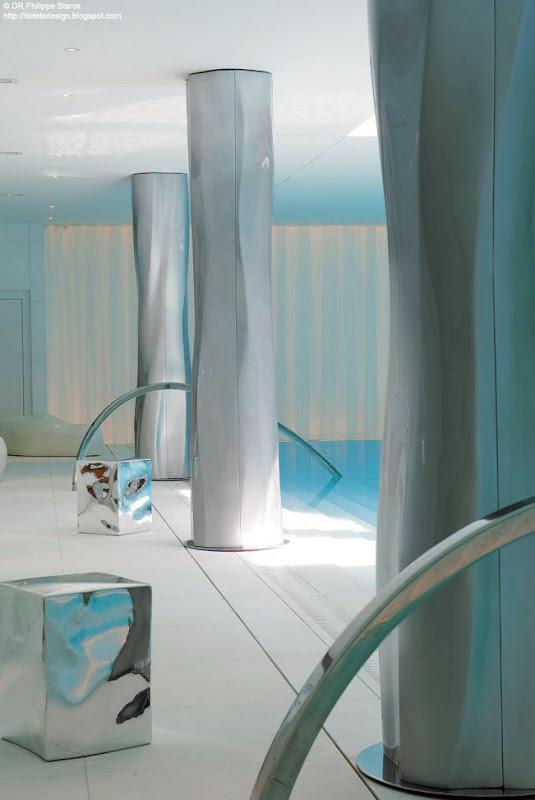 Les plus beaux hotels design du monde h tel le royal monceau by philippe starck paris france - Bassin starck ...