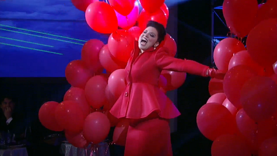 Nurses Ball 2015 Dr Liesl Obrecht Performs 99 Red Balloons