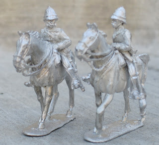 Open Box - Empress Miniatures Anglo-Zulu Wars Mounted British Officers