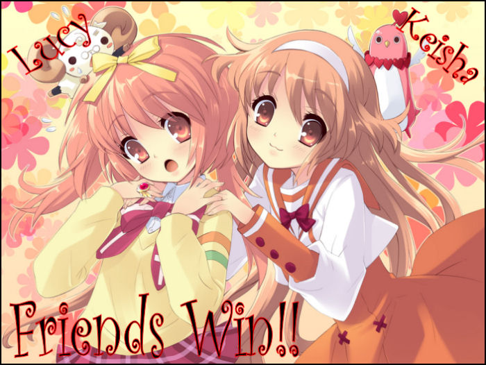 Friends Win: Ramblings by Lucy and Keisha
