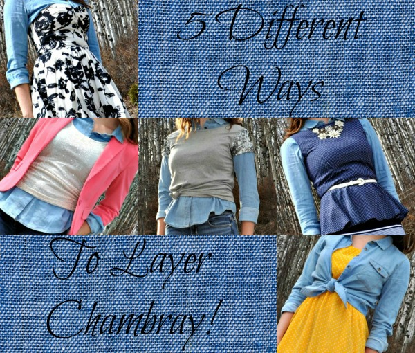 How to Layer a Chambray Top