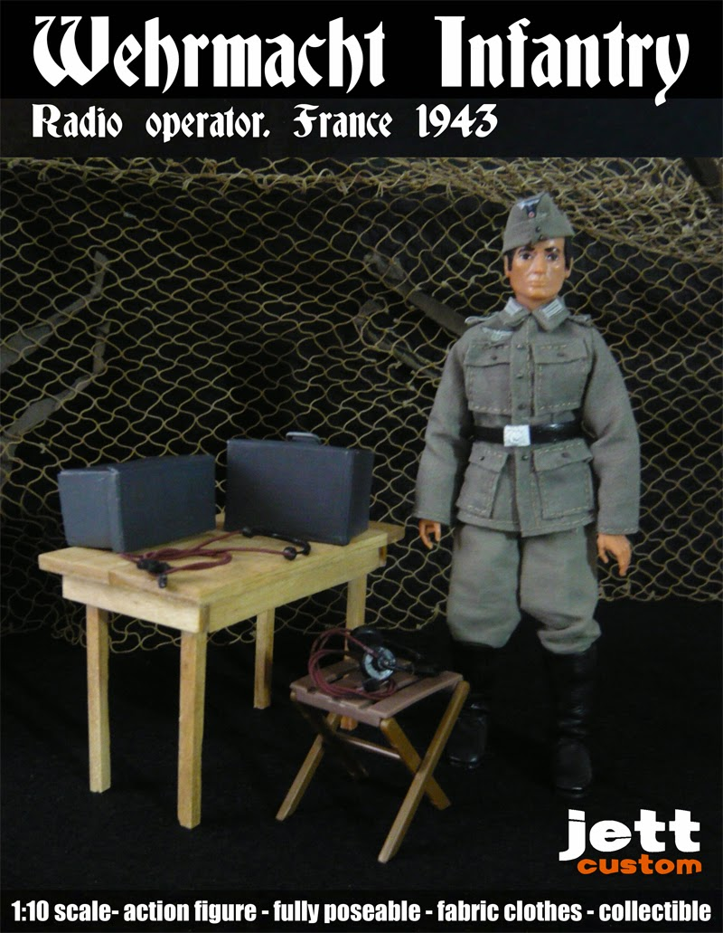 Madelman Wehrmacht Radio