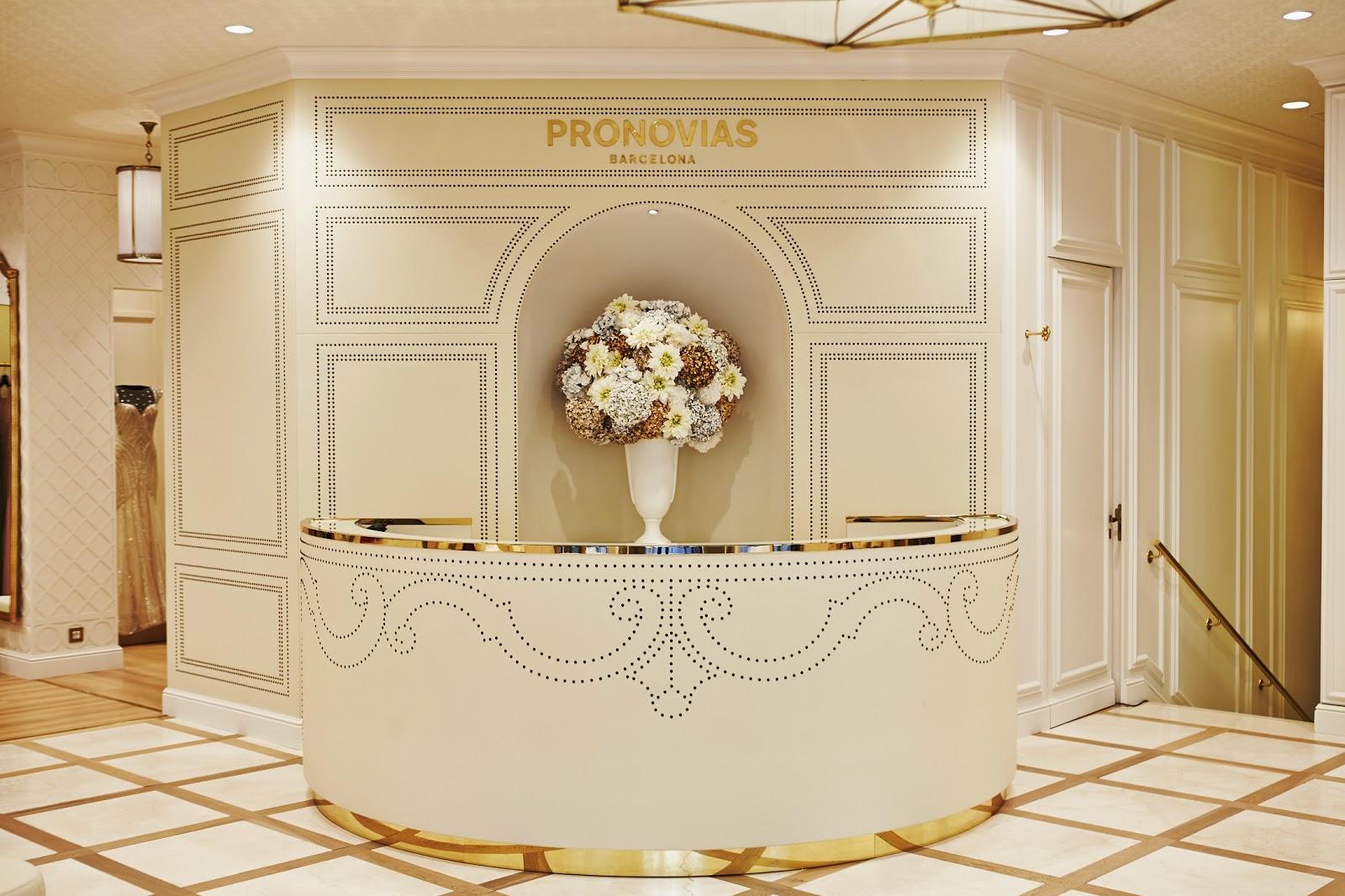 nueva flagship store pronovias barcelona rambla catalunya pso de gracia