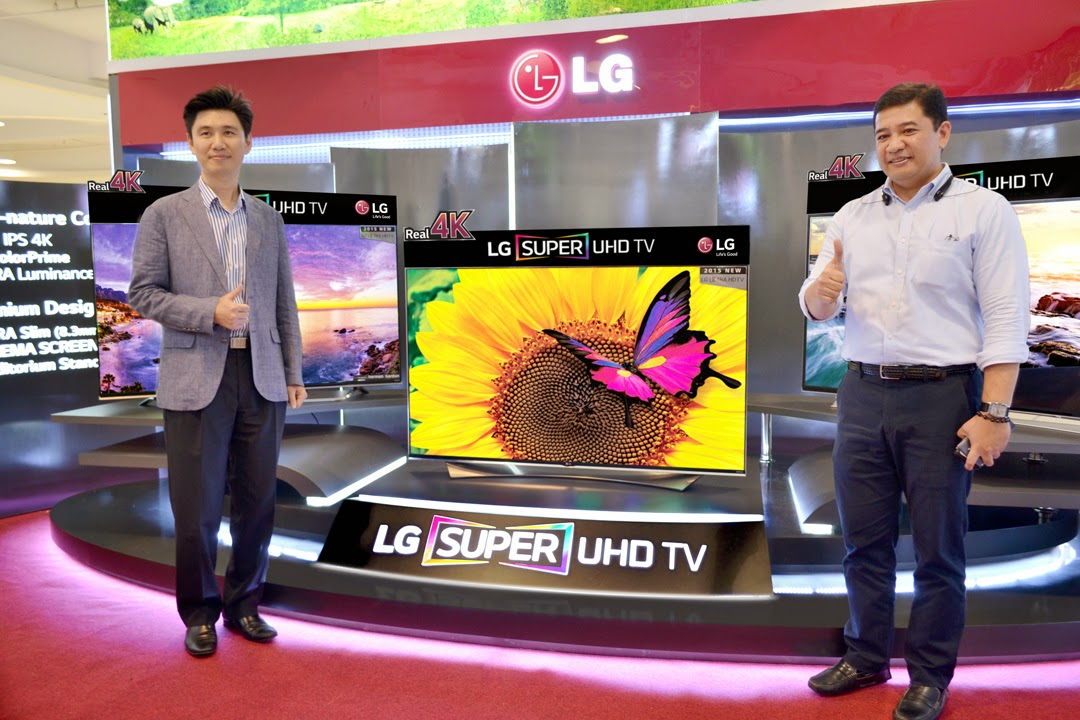 LG launches new SUPER ULTRA HD TVs in the Philippines