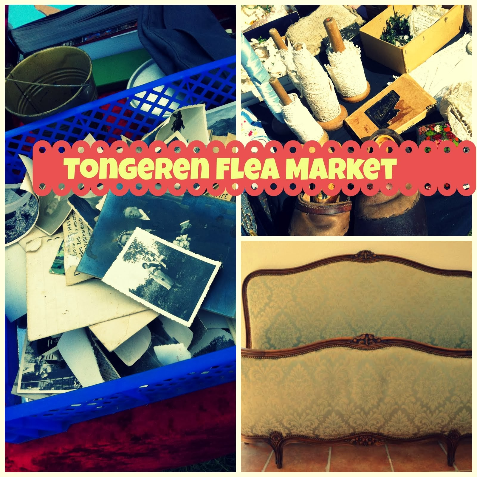Tongeren Flea Market 2.5 hour drive