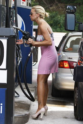 Hunter gas beuty Milf pump