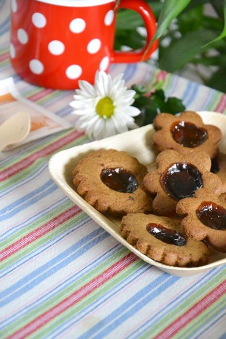 biscotti di vetro doppia liquirizia