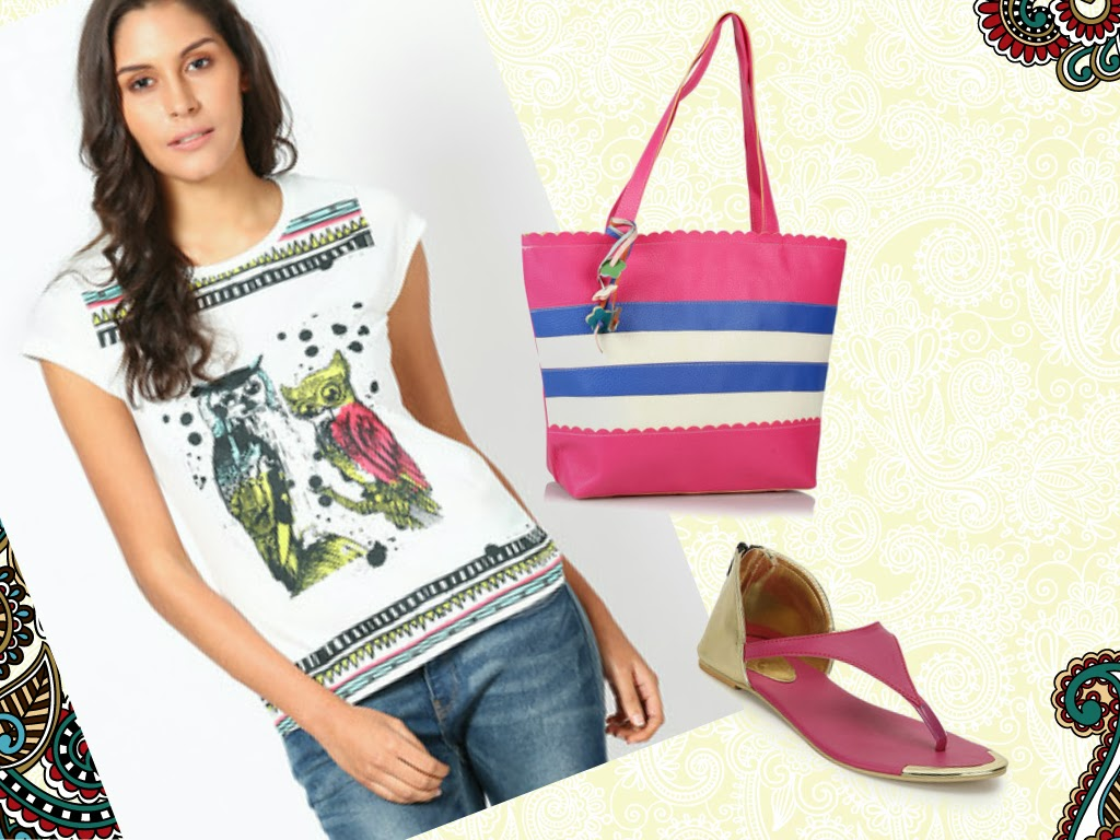 Our External World & Jabong Spring Summer Collection 2014 - Look 2 - Summer Breather
