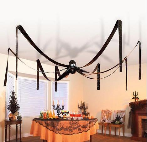 Araa gigante para decorar Halloween