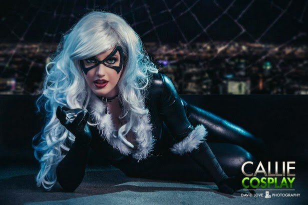 Sexy cosplay de Black Cat