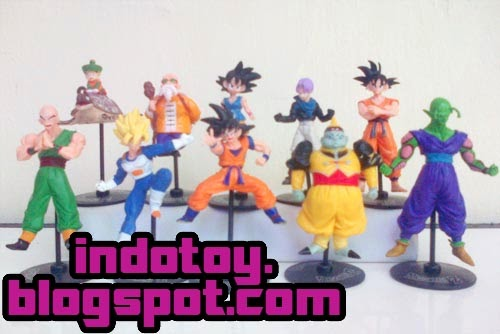 Jual Action figure Dragon Ball Z figure isi 10 seri 1