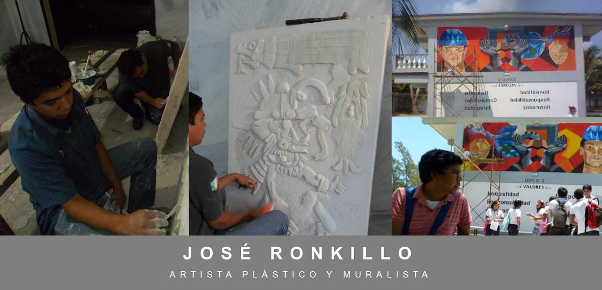 José Ronkillo Muralista