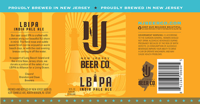 New Jersey Beer Co, New Jersey, India Pale Ale