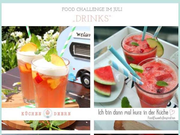 Food Challenge - Sommerliche Getränke für den Juli