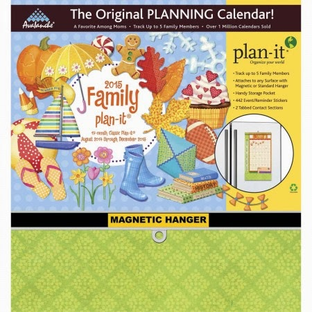 2015 Avalanche Family Plan-It Calendar