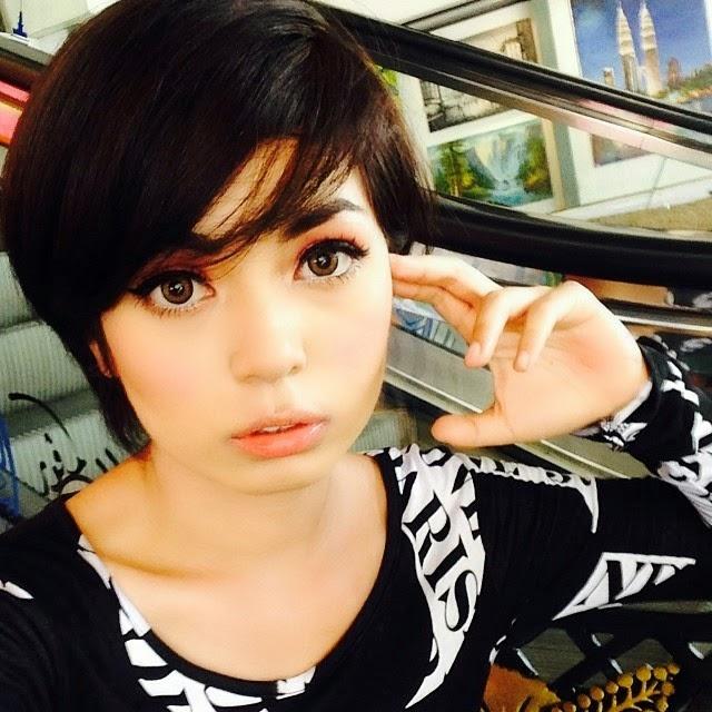 Gambar Hot Pelakon Muda Nad Zainal, pelakon, hiburan, artis,