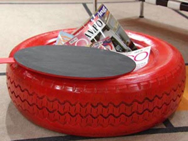 Como reciclar neumaticos usados de coche aprender hacer - Como hacer bricolaje ...