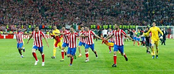 jugadores Atlético de Madrid 2012