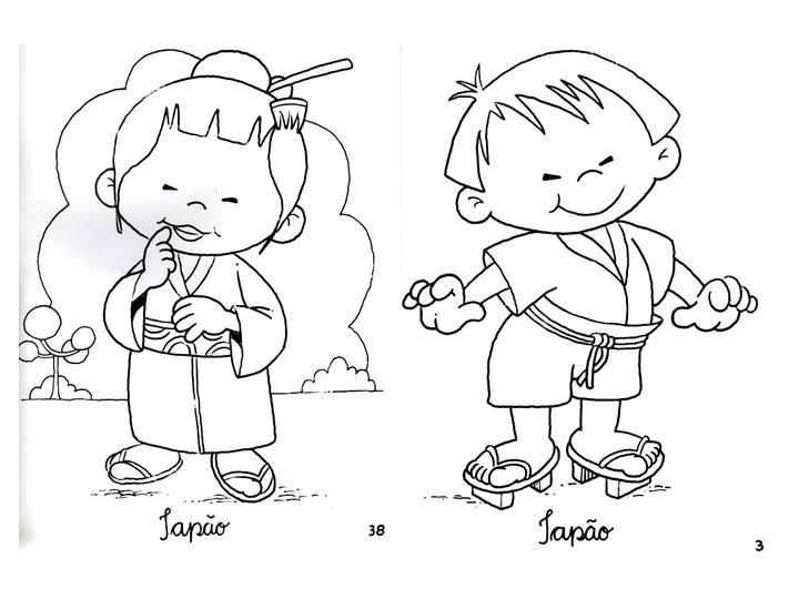 Dibujos de chinos para colorear - Imagui