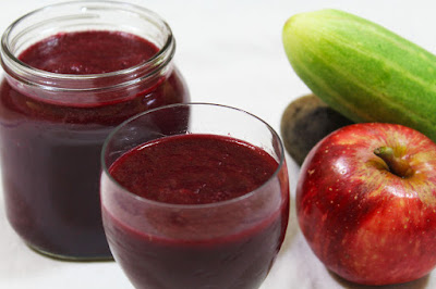 Beetroot Cucumber And Apple Smoothie