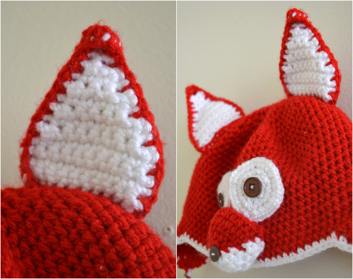 FREE PATTERN The Perfect Crocheted Fox Ears