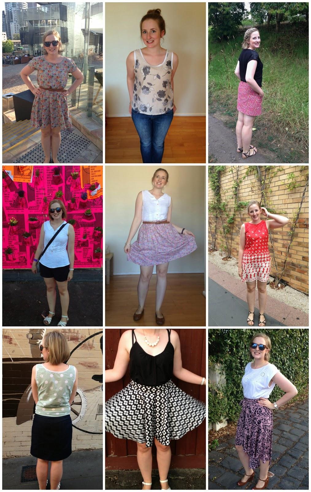 Sewn By Elizabeth Summer/Spring wardrobe