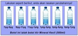 tips minum air dengan shaklee