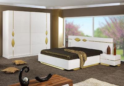 bellona+beyaz+lake+yatak+odasi+takim+modelleri Yatak Odası Takımlarında 2012 Rüzgarı