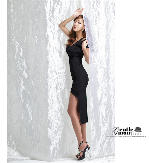 4 Seo Jin Ah in Black-Very cute asian girl - girlcute4u.blogspot.com