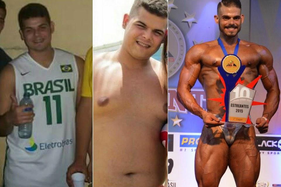 Arthur Soares revela que era obeso há dois anos anos atrás. Montagem: Arquivo pessoal e Alencar Amaral