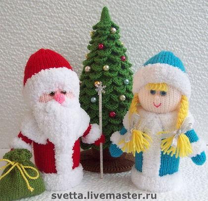 Новогодняя большая игрушка своими руками на елку